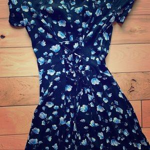 Corset Back Vintage Style Dress